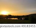魚網,池塘,水庫,農村地區, 49183455