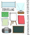 Story Telling Materials Illustration 49184926