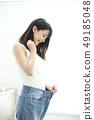 슬림 여성 49185048