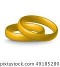 gold wedding rings 49185280