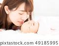 엄마와 아기 49185995