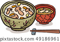 Matsutake mushroom rice 49186961