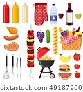 Different special tools and food 49187960