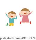 孩子跳 49187974