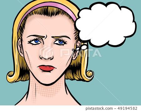 美国漫画女性思考 49194582