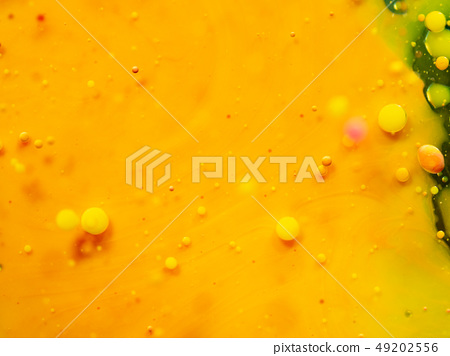 Abstract yellow background. Close up macro shot of 49202556