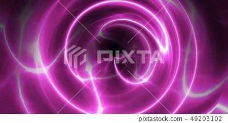 鮮豔細緻的科技數位光束紋理背景(高解析度 3D CG 渲染∕著色插圖) 49203102