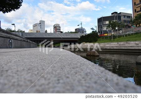 台中,柳川,河堤 49203520