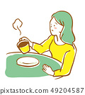 咖啡館的女人 49204587