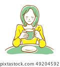 咖啡館的女人 49204592