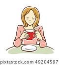 咖啡館的女人 49204597