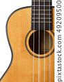 Small Hawaiian four stringed ukulele guitar 49209500