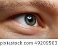 男性 男人 眼睛 49209503