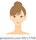 女性脸04 49217706