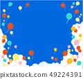 雲氣球框架 49224391
