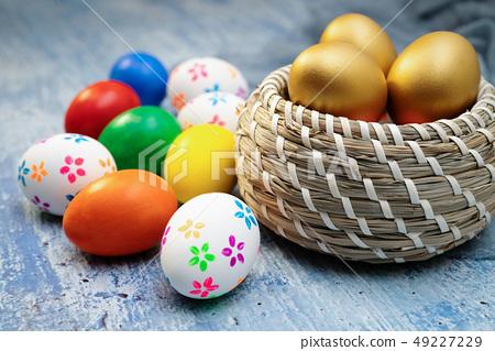 Easter egg, happy Easter sunday hunt holiday 49227229