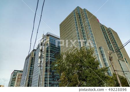中國北京市街道建築 中国北京市の街道建築 Beijing Peking China 49228896