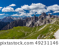 Spectacular view of Tre Cime loop trail 49231146