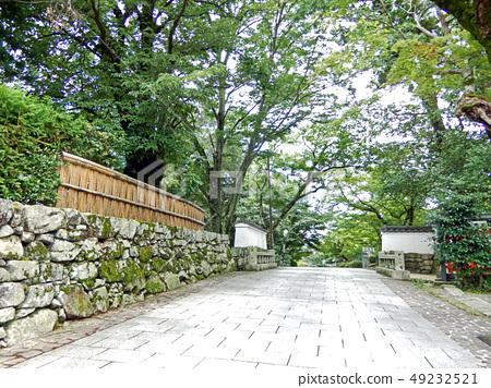 Sakamoto Shiga-in Mon trace Aomoriji 49232521