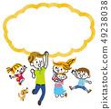 家庭跳气球 49238038