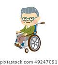輪椅男子 49247091