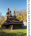 Wooden historical church of the St Archangel 49247678