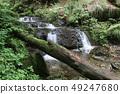 Waterfall on the Silver Brook, Czech Republic 49247680