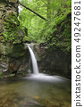 Waterfall on the Silver Brook, Czech Republic 49247681