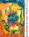 Splatters, splinter, blotches, blots and blobs of 49247711