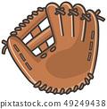 Image illustration of baseball glove 49249438