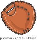 Image illustration of catcher mitt 49249441