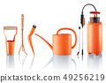 Set of useful gardening tools 49256219
