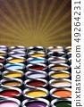 Paint cans palette, Creativity concept 49264231