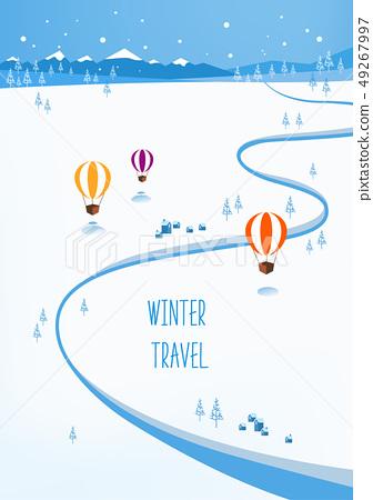 冬季旅行圖 49267997