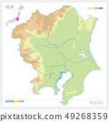 แผนที่ของคันโต, คันโต (ระดับความสูง, รหัสสี) 49268359