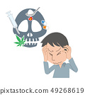 약물 중독 드래그 중독 남성 49268619