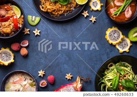 Thai food background 49268633