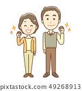 Senior man and woman 49268913