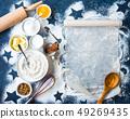 Baking background concept 49269435