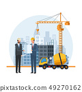 construction engineer cartoon 49270162