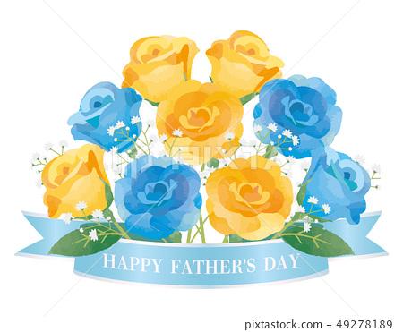 父親節玫瑰花束 49278189