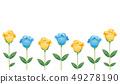 玫瑰黃色和藍色 49278190