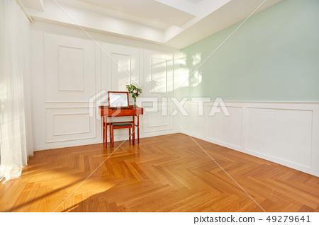 테이블과 의자, 벽 49279641