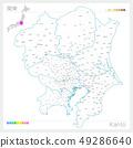 Map of Kanto, Kanto (white map style) 49286640