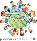 勞動人民和城市景觀 49287185