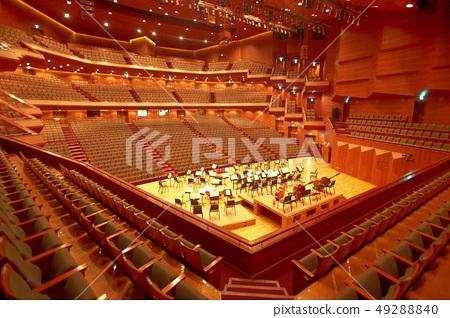 에술의 전당 콘서트홀 실내 인테리어 사진 49288840