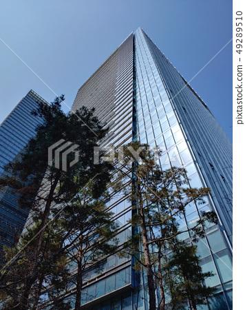빌딩,도시,건축,빌딩숲,도시이미지,현대적인,도시적인,수직,다운타운,차가운,스마트,혁신적인 49289510