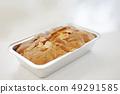 Handmade pound cake perming stock photo 49291585