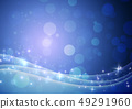 蓝色 - 抽象 - 背景 - 材料 - 闪光 - 粒子 49291960