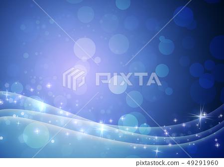 블루 - 추상 - 배경 - 소재 - 반짝 - 파티클 49291960